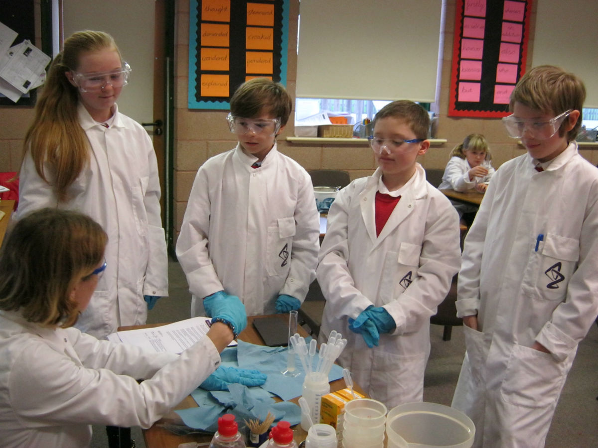 CSI science day 151